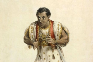Edmund Kean famously died on stage in 1833 while playing Othello