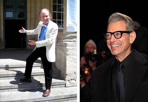 Trevor T Smith & Jeff Goldblum